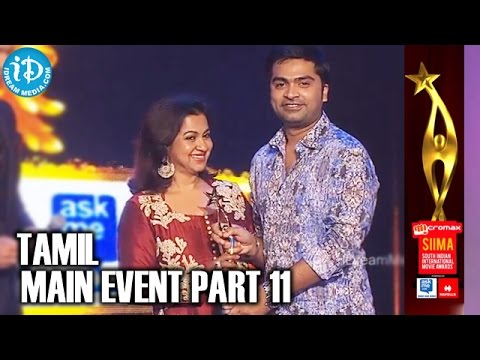 SIIMA 2014 Awards | Tamil Main Event | Part 11