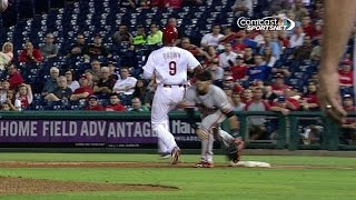 SF@PHI: Out call stands to end the game in the 9th