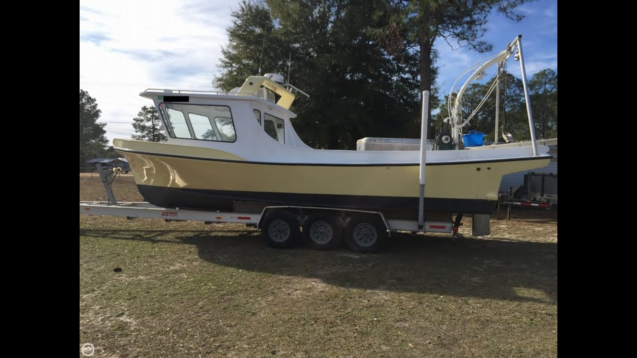 [UNAVAILABLE] Used 1990 Newton Lafitte Skiff 30 in Southport, Florida