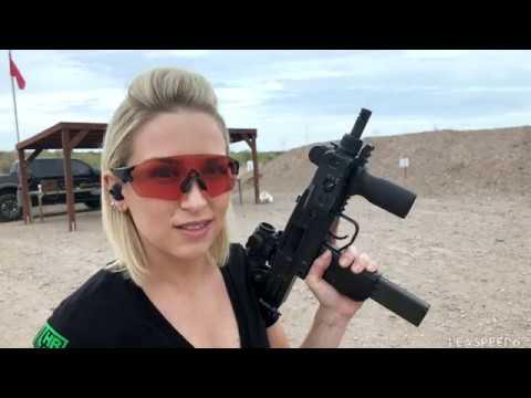 Firing a Real Full-Auto Mini Uzi Submachine Gun