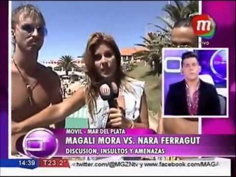 Magalí Mora, enfurecida en vivo con Nara Ferragut