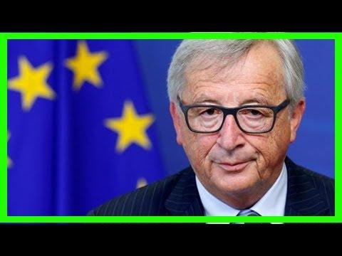 [ HOT NEW ]Eu's juncker backs macron economy moves before euro zone reform talks