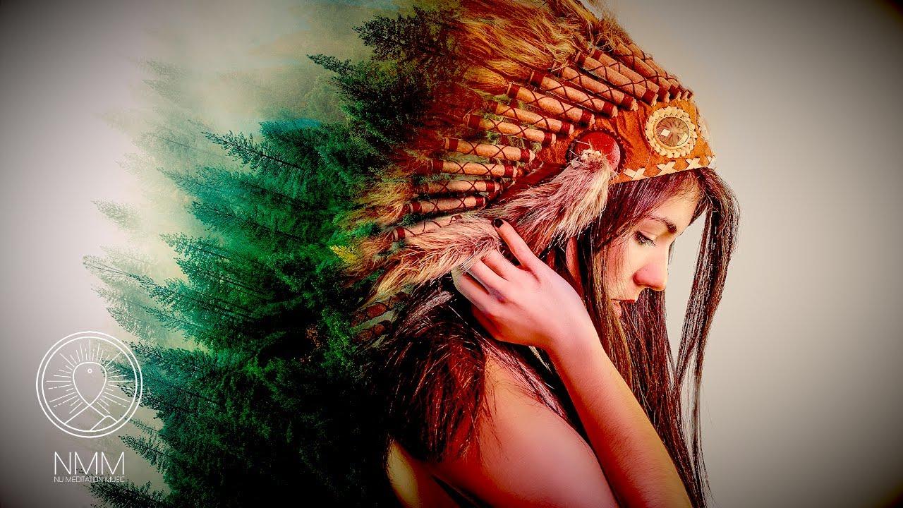 Native American Sleep Music 🔥 SHAMANIC flute duet 🔥 Spirit flute music,  soothing native music