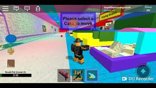 ROBLOX: BAKE A CAKE, BAKING MYSELF!!?!!?