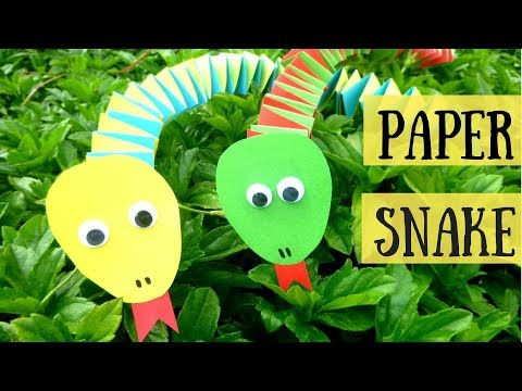 Paper Craft for Kids | How to Make a Paper Snake
