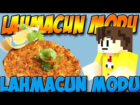 LAHMACUN YAPIYORUZ! - Minecraft Lahmacun Modu (Un,Lahmacun,Buğday) - Minecraft mod Tanıtımı TÜRKÇE