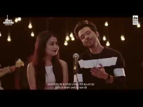 Chaand Mera Naraaz Hai - Tony Kakkar & Neha Kakkar | Official Video Song l