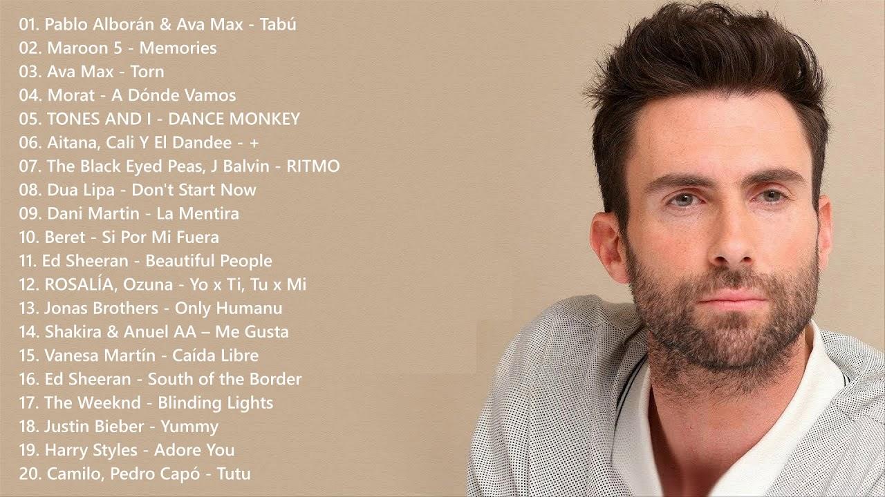 Los 40 Principales Música En Inglés 2020 2021 Youtube