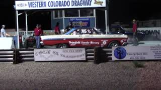 1964 A/FX Comet Ronnie Sox Action at the Western Colorado Shootout 7-15-17