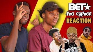 Savage A-Reece! 2018 BET HipHop Cyphers|| A-Reece, Nasty C & Shane Eagle