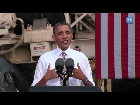 Obama Shows Economic Impact Of Shutdown in Rockville, MD - Full Speech