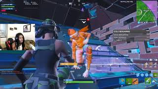 I MET A FAN IN RANDOM DUOS SO I HAD TO CARRY HIM TO OUR FIRST DUO WIN
