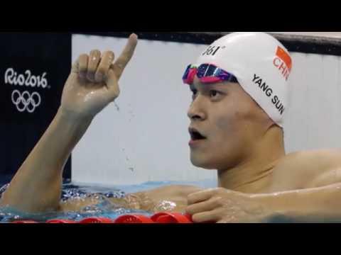 China's Sun Yang wins 200m freestyle gold