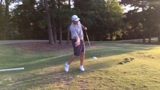 Hitting it long with effortless velocity!