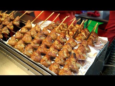 Fırında Tavuk Şiş Tarifi - YouTube