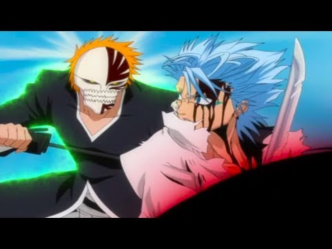 Ichigo Vs. Grimmjow - All Fights - Shinigami VS Hollow 「1080p」60FPS