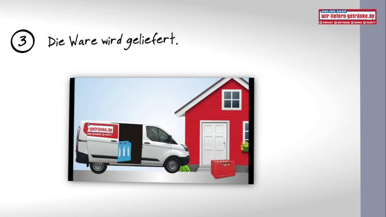 Getränke online bestellen Erklärvideo - wir-liefern-getränke.de ...