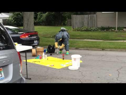 Watch police neutralize a mobile meth lab in Flint