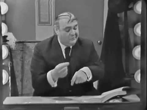ZERO MOSTEL,  in a rare TV appearance , 1962 directed by David Pressman