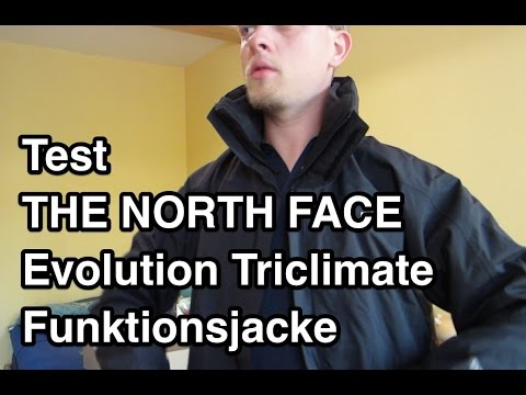 huge discount 4ff35 cb950 Test THE NORTH FACE Evolution Triclimate Jacke | 3 in 1 Jacke | North Face  Jacke