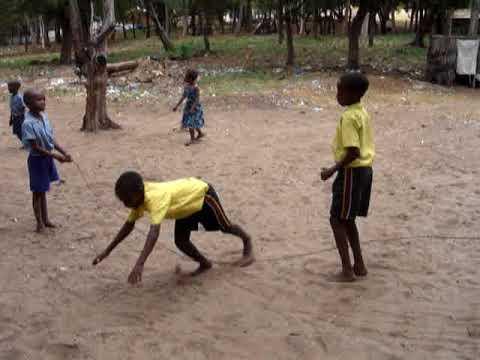 Traditional Games in Kenya - ROP SKIPING