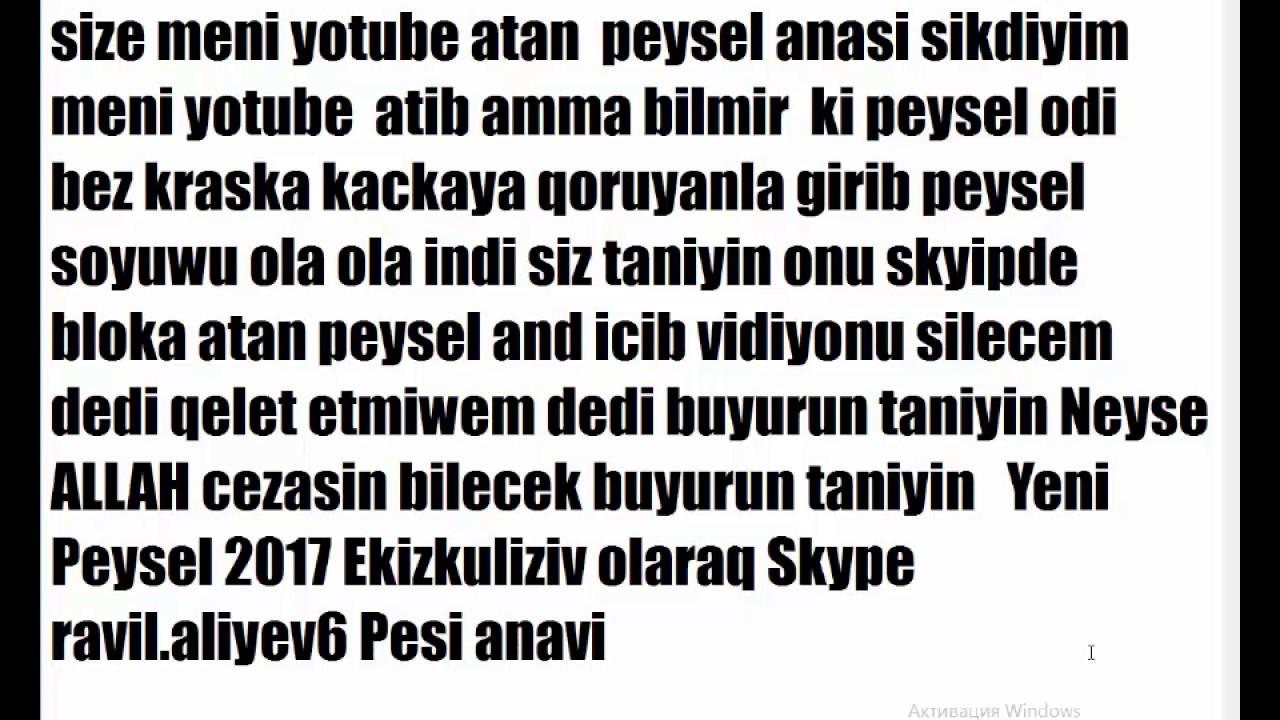 2017 yeni peyser Vur boyna Peyser Qehbe Exklusiv Peyser