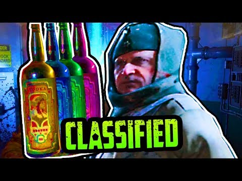 CLASSIFIED: SECRET VODKA EASTER EGG GUIDE (BO4 ZOMBIES)