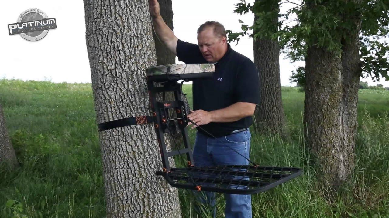 Phoenix Hang On Tree Stand Big Game Treestands Youtube