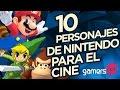 Gamers Top: 10 personajes de Nintendo para el cine