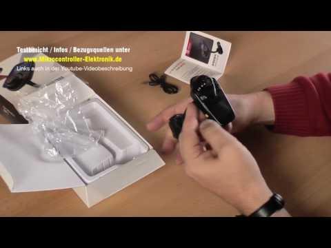 Bluetooth Freisprecheinrichtung T10 mit FM-Transmitter, Player und Ladegerät