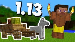 КРУТЫЕ ПОСТРОЙКИ ИЗ НОВЫХ БЛОКОВ В МАЙНКРАФТ 1.13 / Minecraft 17w49a