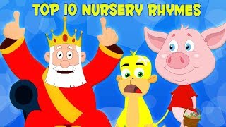 10 อันดับเพลงกล่อมเด็ก | เพลงก่อนวัยเรียน | เด็กบ๊อง | 10 อันดับเพลงเด็ก | Top 10 Nursery Rhymes