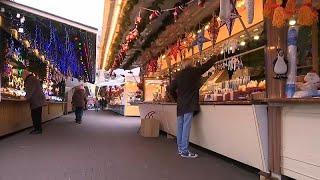 A Strasbourg, le marché de noël reprend vie
