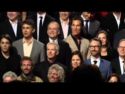 Group Photo of All Oscar Nominees