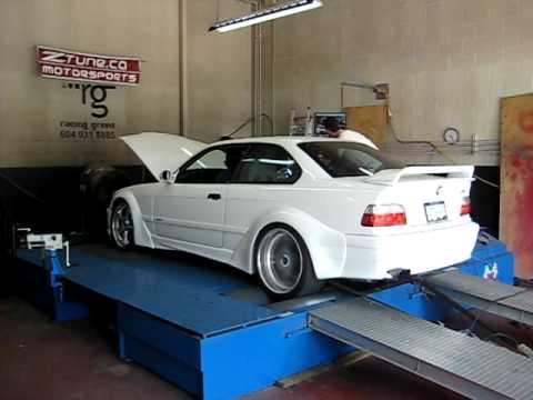 Erics BMW M Dyno Run YouTube - 1994 bmw m3