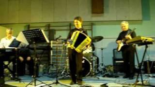 Jérôme Dhainaut Circus Renz avec l'Orchestre de Jean Marc Herouart à Myennes (Bourgogne)