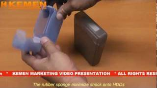 Hard Disk Drive HDD Storage Box Cas