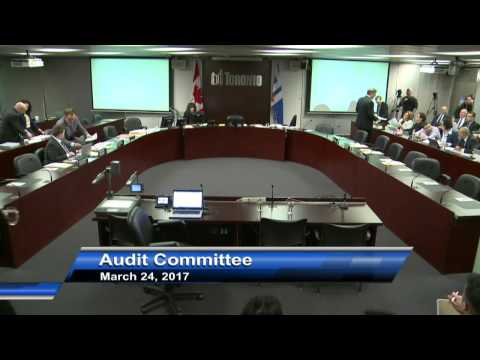 Audit Committee - March 24, 2017