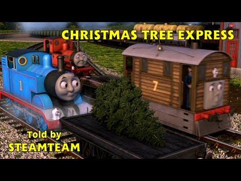 Christmas Tree Express Thomas Friends Magazine Story Hd Youtube
