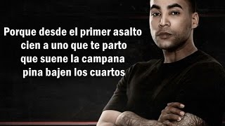 Don Omar - Cara A Cara (Letra) (Jingle) Tiraera pa Daddy Yankee Do vs Dy