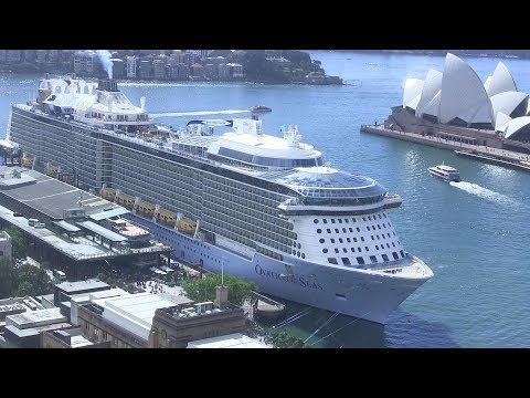 Ovation Of The Seas - Transpacific Cruise 17 April 2019