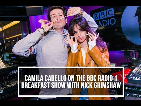 Camila Cabello interview on The BBC Radio 1 Breakfast Show with Nick Grimshaw (February 19th 2018)