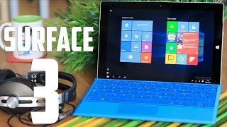Puedes comprar tu Surface 3 aquí: http://amzn.to/1IsgnZR Suscríbete...