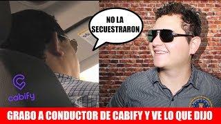 Le saco TODA LA VERDAD a conductor de Cabify sobre muerte de Mara Fernanda