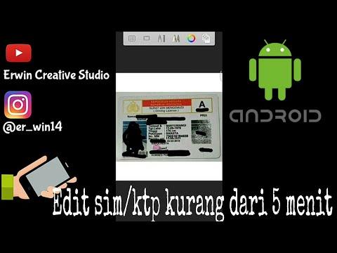 Tutorial cara edit SIM /KTP di Android Mp3