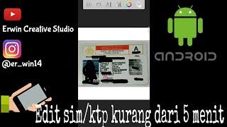 Tutorial Cara Edit Sim /ktp Di Android