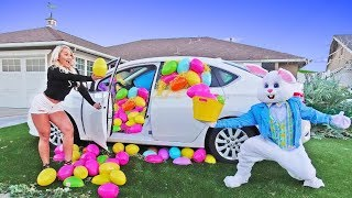 ASKING MY GIRLFRIEND TO MARRY ME DRESSED AS THE EASTER BUNNY!!!!