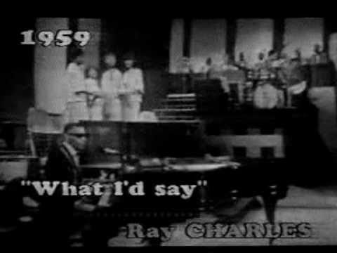 ray charles what 39 d i say 1959 live rare youtube. Black Bedroom Furniture Sets. Home Design Ideas