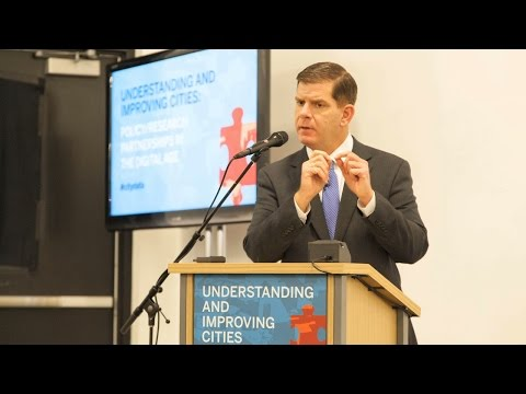 City of Boston Mayor Martin J. Walsh || Radcliffe Institute