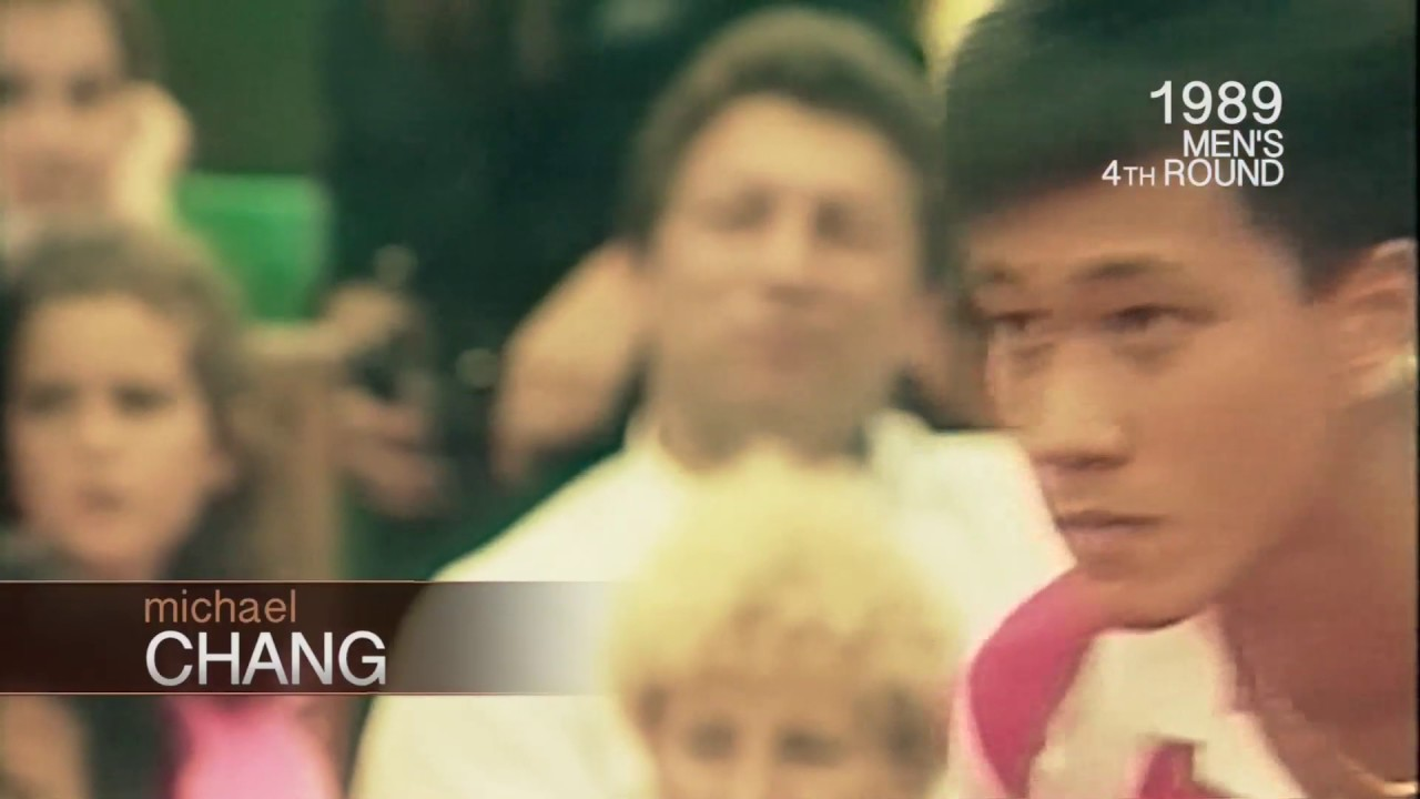 Roland Garros Moments 1989 Michael Chang